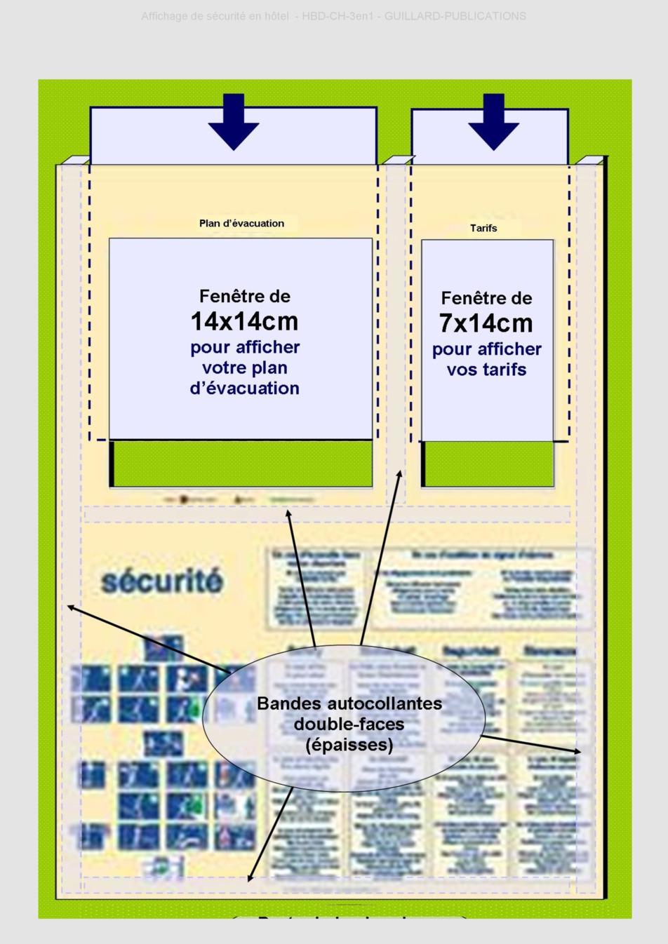 Affichage de securite hotel chambre source www for Chambre de la securite